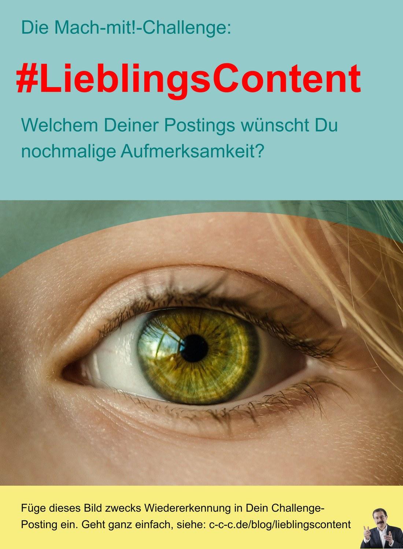 LieblingsContent-Challenge auf Linkedin von Werner Schienle